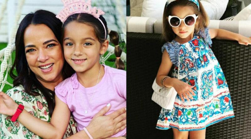 La lujosa vida de Alaïa hija de Adamari López: Viajes, clases privadas y su propio Castillo!