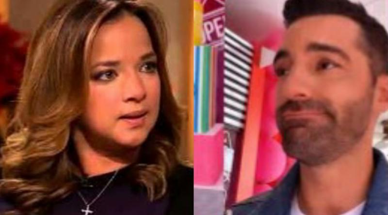Toni Costa piropea a Adamari López por su nueva figura y ella lo rechaza!